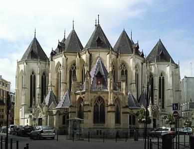 美丽的建筑在里尔,法国