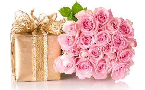 生日贺卡和礼物
