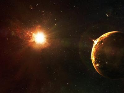 这颗星星照亮了这个星球