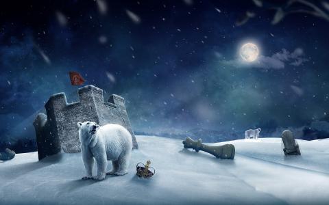 北极熊和国际象棋