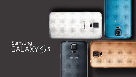 三星Galaxy S5机型的颜色