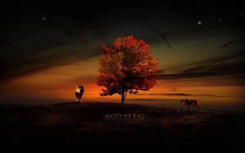 狮子在生命之树