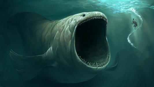 神奇的水下怪物