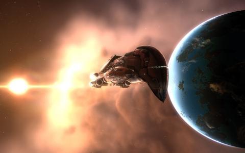 来自地球的外星人船