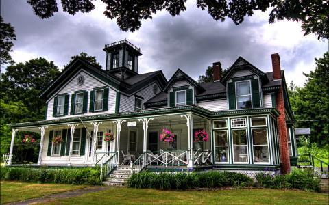 美丽的房子