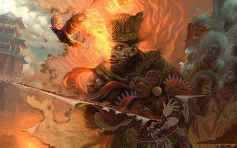 火热的武士