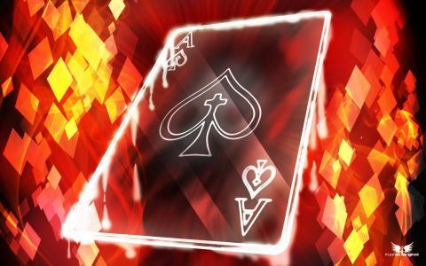 透明卡牌游戏王牌