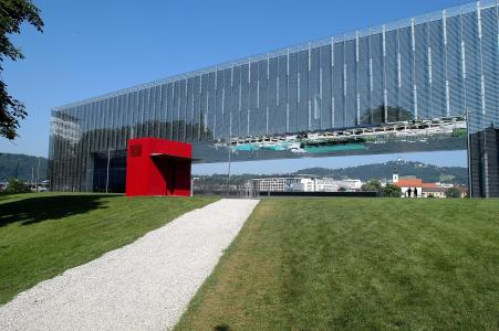 玻璃建筑在奥地利林茨