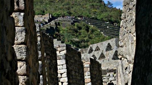 在秘鲁的令人叹为观止的地方