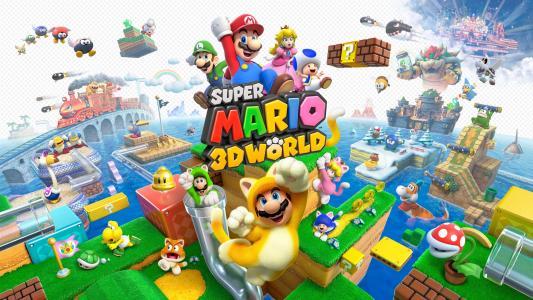 超级马里奥3d世界游戏
