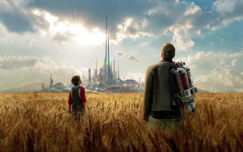 乔治克鲁尼在未来的地球电影