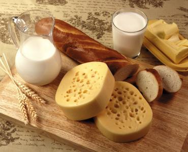用面包的乳制品