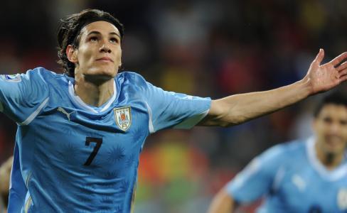 足球运动员卡瓦尼乌拉圭