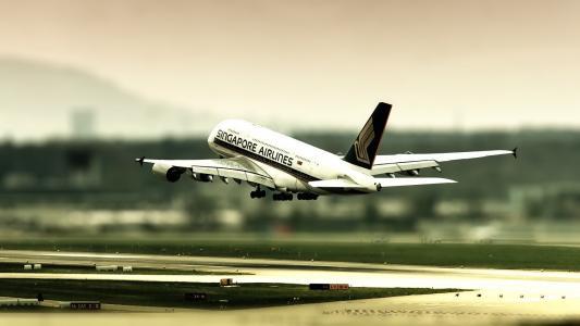 新加坡航空公司飞行