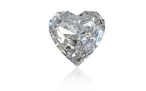 3d好看的心形钻石