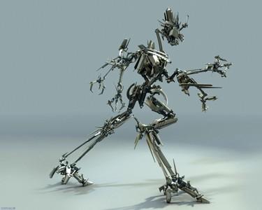 行走的智能机器人
