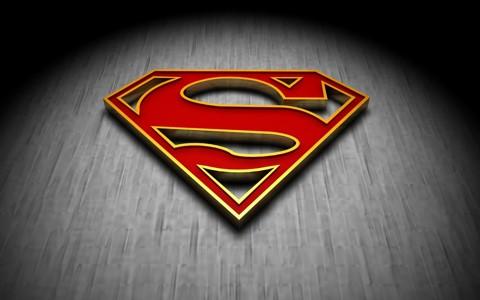 3d超人logo