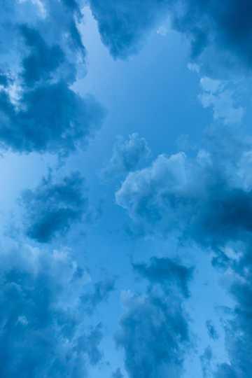 天空云彩背景图