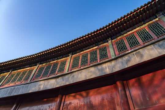 北京颐和园古建筑景致