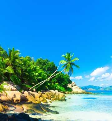 海滨景物唯美景象
