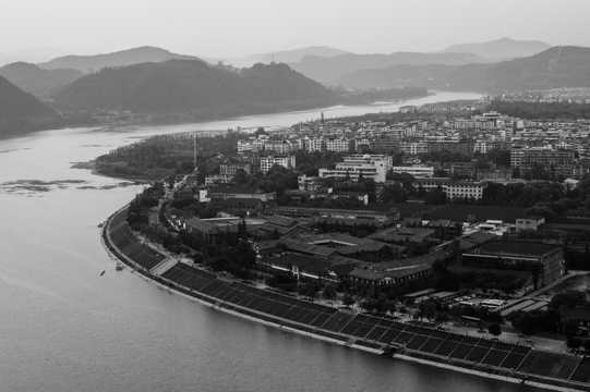 四川阆中古镇景致图片