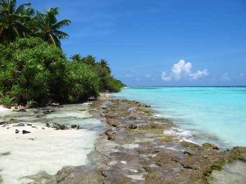 唯美的北马累环礁