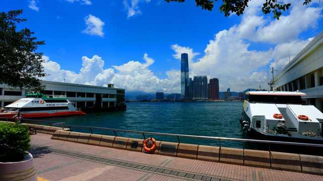 香港九龙半岛景象图片