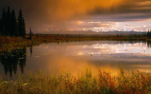美国阿拉斯加景致图片