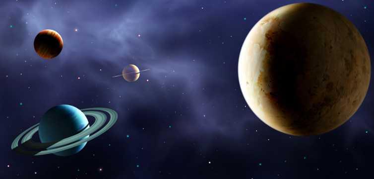 外太空星球宇宙