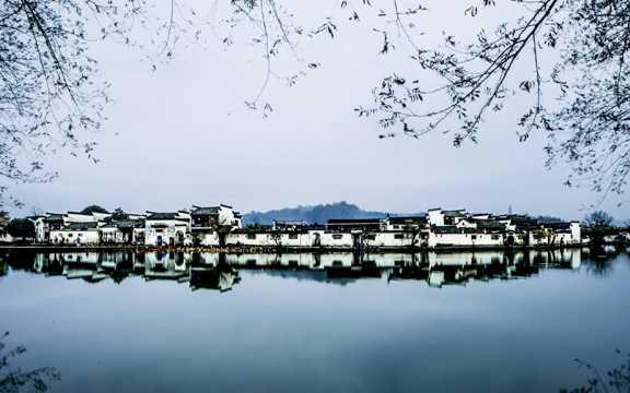 冬日徽州光景