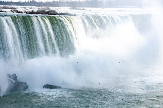 壮丽的尼加拉大瀑布