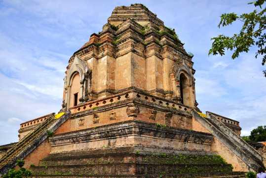 泰国清迈大塔寺