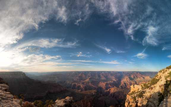 震撼的美国大峡谷